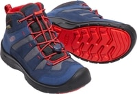 HIKEPORT MID WP JR dress blues/firey red
