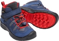 HIKEPORT MID WP K, dress blues/firey red