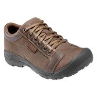 c21347f9f63 Austin chocolate brown - pánská kožená obuv akce - KEEN - pánské ...