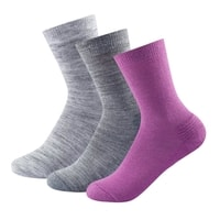 Daily Medium Woman Sock 3pk Anemone mix