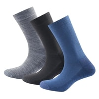 Daily Medium Sock 3pk Indigo mix