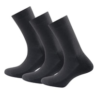 Daily Medium Sock 3pk Black