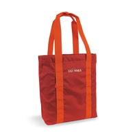SHOPPING BAG, redbrown