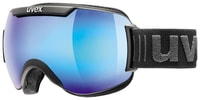 DOWNHILL 2000 black mat double lens/mirror blue