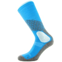 Cross Country Woman Sock aqua/white