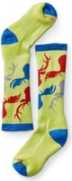 KIDS WINTERSPORT CAMO, smartwool green