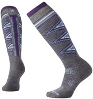 W PHD SKI LIGHT PATTERN, medium gray