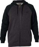 Legacy Zip Fleece, black/charcoal