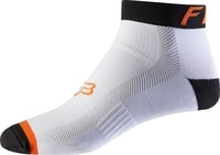"4"" Sock White/Orange"