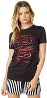 Throttle maniac ss crew tee Heather Graphite