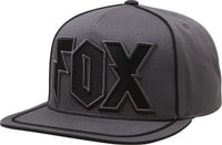 Faction snapback hat Charcoal