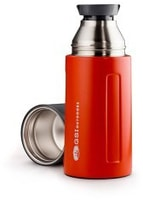 Glacier Stainless Vacuum Bottle 500ml red