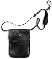 Skin Folded Neck Pouch black - pouzdro