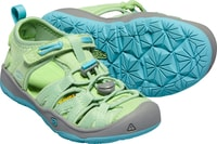 MOXIE SANDAL K, quiet green/aqua sea