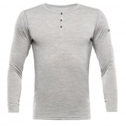 Breeze Man Button Shirt Grey Melange