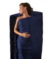 Silk Liner with STRECH PANEL LONG (Rectangular) navy