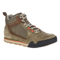 BURNT ROCK TURA MID SUEDE dusty olive