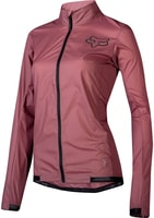 Womens Attack Wind Jacket Dusty Rose