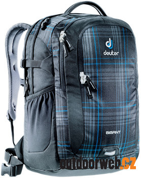 Gigant 32 l blueline check - batoh na notebook