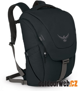 Flap Jack Pack Black 21l - batoh na notebook