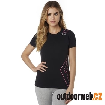 Cornered Crew Ss Tee Black - tričko