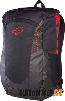 DECOMPRESS backpack 24l black red