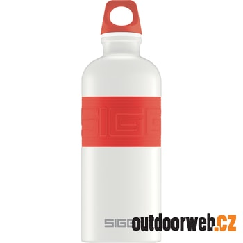 CYD pure white touch red 0.6 L - Lahev